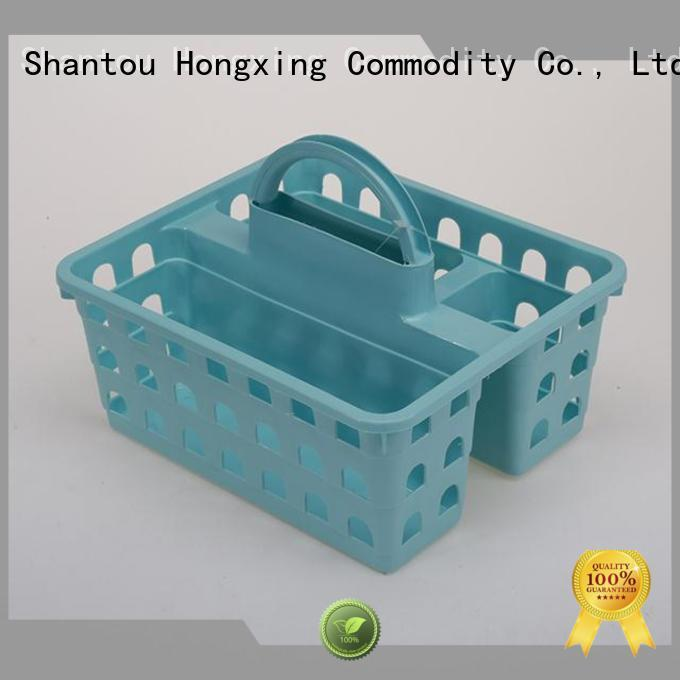 HongXing grip plastic laundry basket with excellent performance for storage books