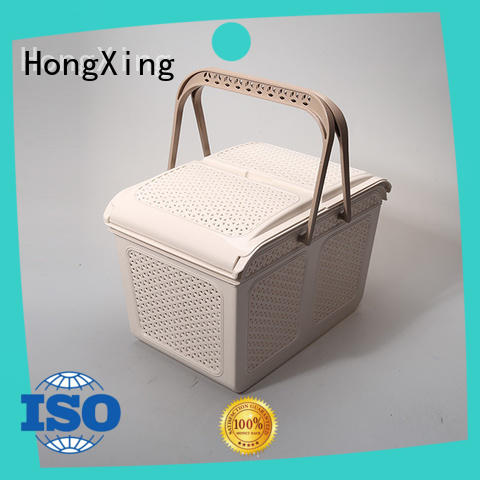 HongXing shopping plastic picnic basket with excellent performance