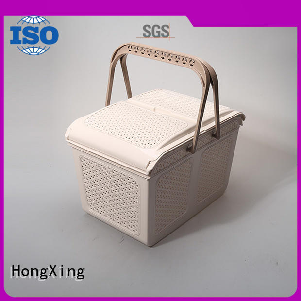 multifunction small plastic baskets for storage small containers for storage books HongXing