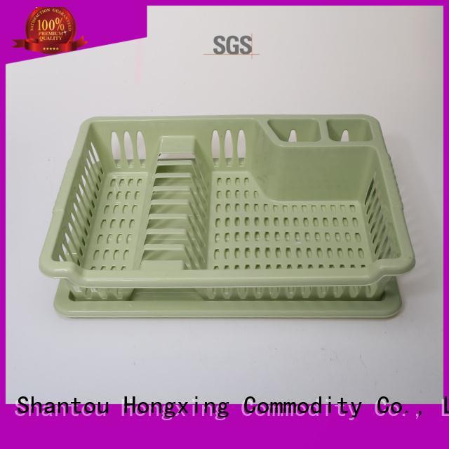 PP material plastic kitchen dishes and bowls and cutlery drain washing holder rack&plastic dish drying rack