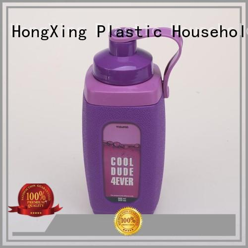 waterplastic sports plastic water bottle long-term-use for workers HongXing