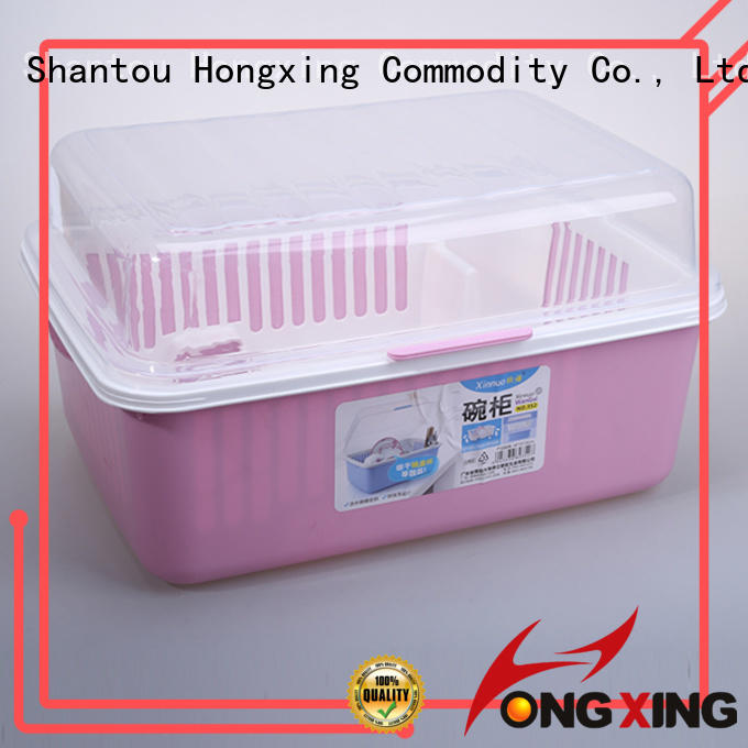 HongXing plastic household items factory to store dishes