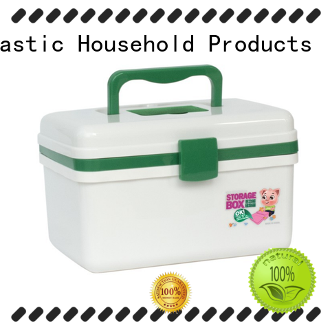 convenient to use plastic medicine storage box with good quality for home