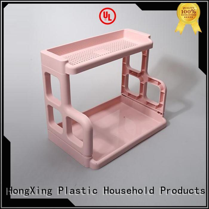 storage multipurpose racks plastic for home juice HongXing