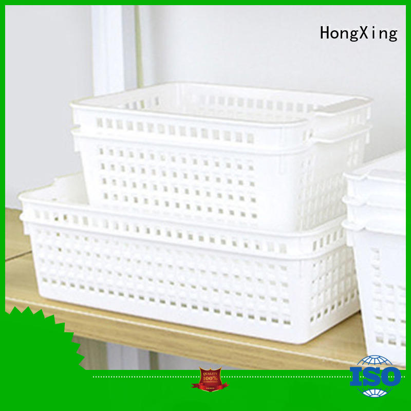 stackable plastic storage basket for storage household items for storage books