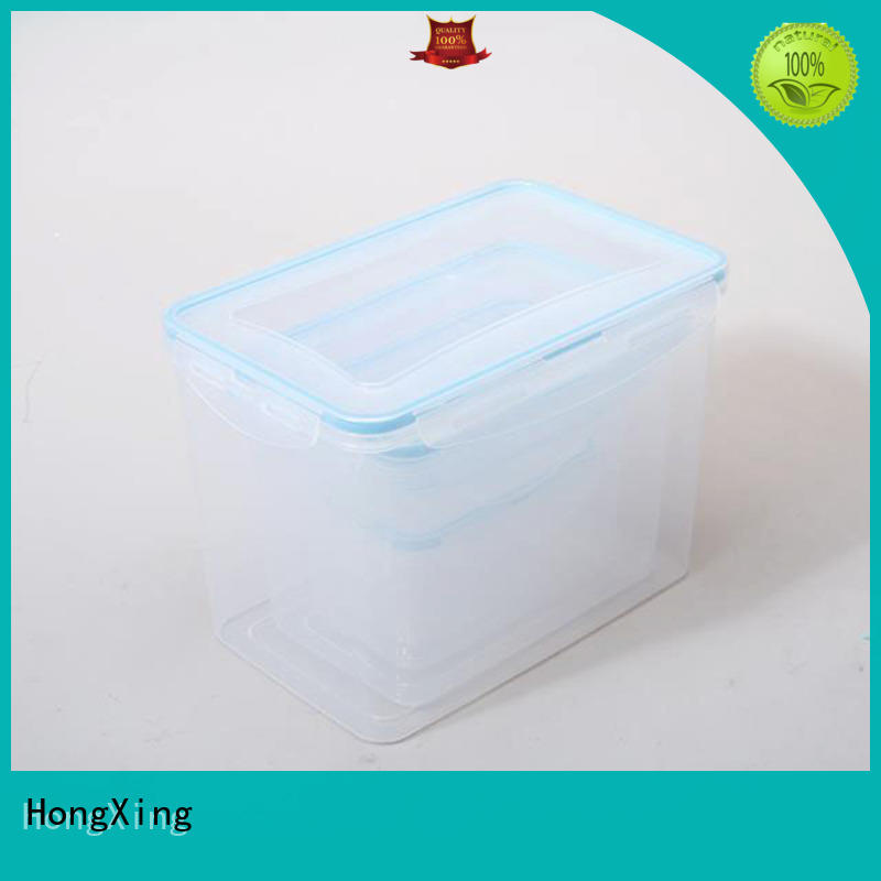 HongXing 100% airtight plastic food storage containers litres for rice