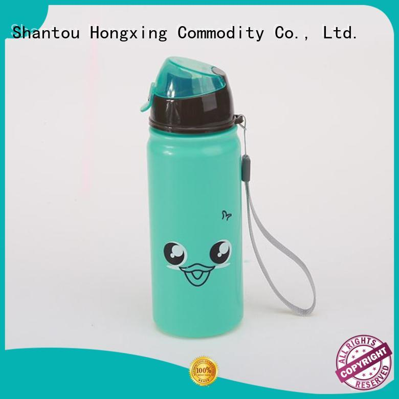 HongXing printing kids drink bottles material for adults