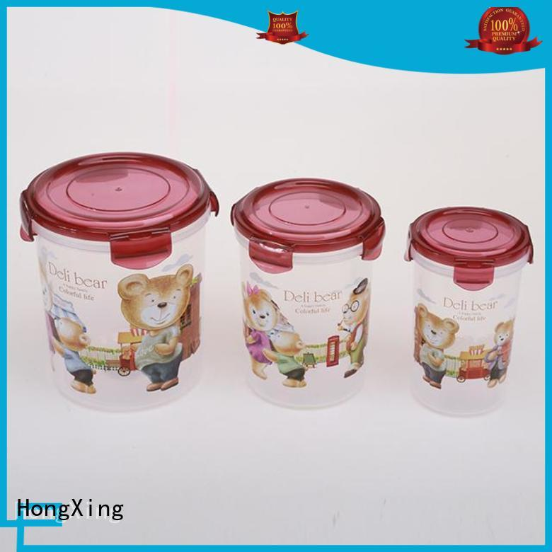 HongXing container airtight plastic storage containers directly sale for candy