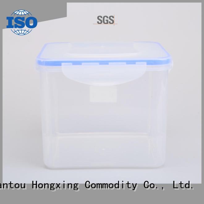 HongXing safe airtight plastic storage boxes box saving sugar