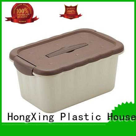 HongXing stable performance plastic storage boxes with handle good design for sushi