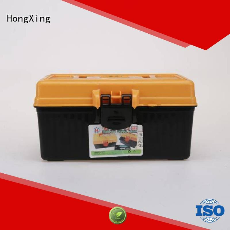 HongXing green plastic carry tool box Keep food fresh for office