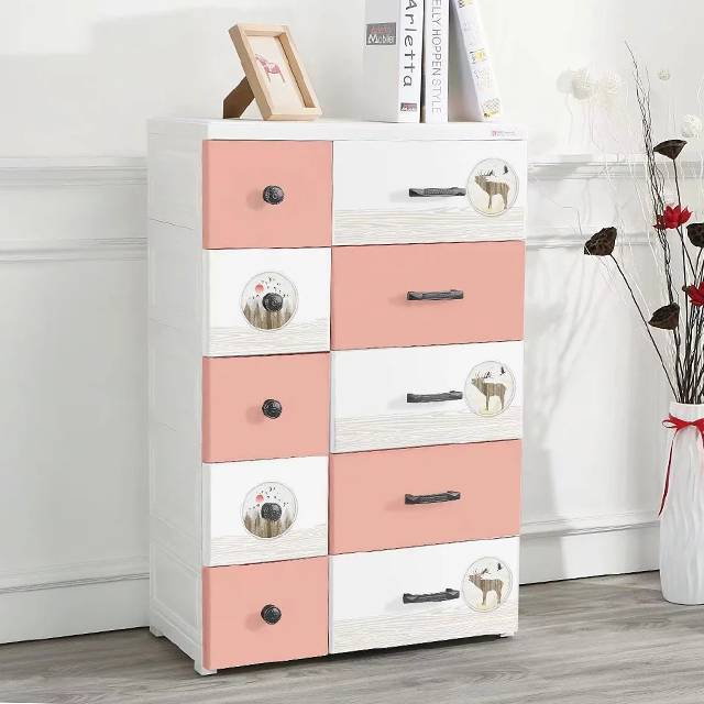 HX0032464 Nordic Style DIY Assembled Plastic Drawer Cabinet&cabinet storage plastic