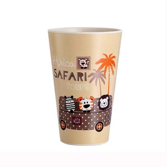 HX0032551 Eco-friendly Bamboo Fibre Plastic Cartoon Printing Coffee mug&Cups 350ML - 420ML - 480ML
