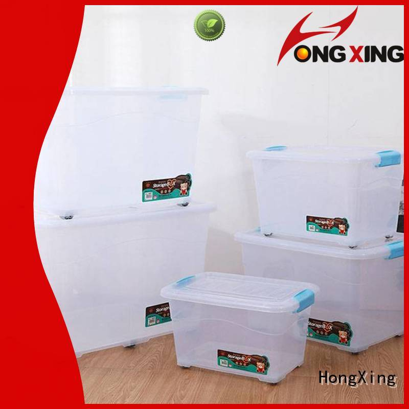 plastic box with wheels shape for bread HongXing