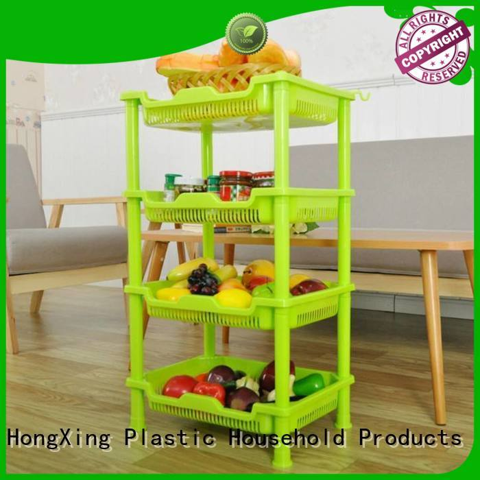 Cute kitchen racks plastic bulk production for mother