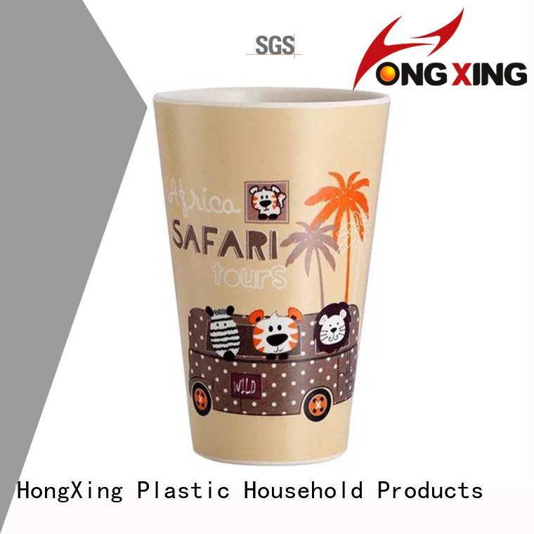 HongXing New arrival plastic tea cups bulk production for drinking