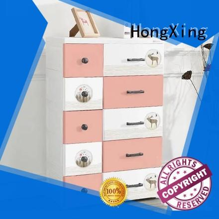 door plastic drawer storage unit certifications for storage clothes HongXing