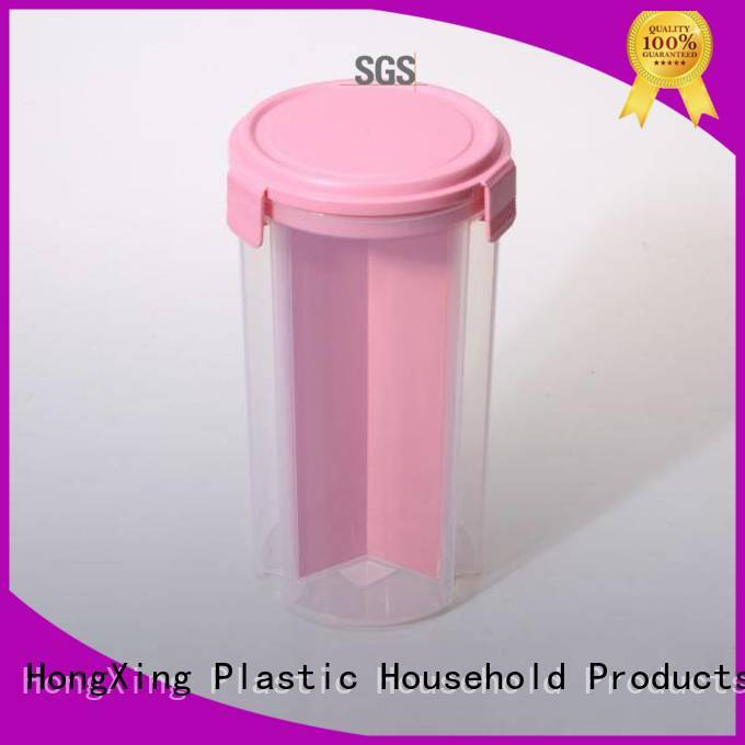 HongXing stable performance plastic food storage containers wholesale for cookie
