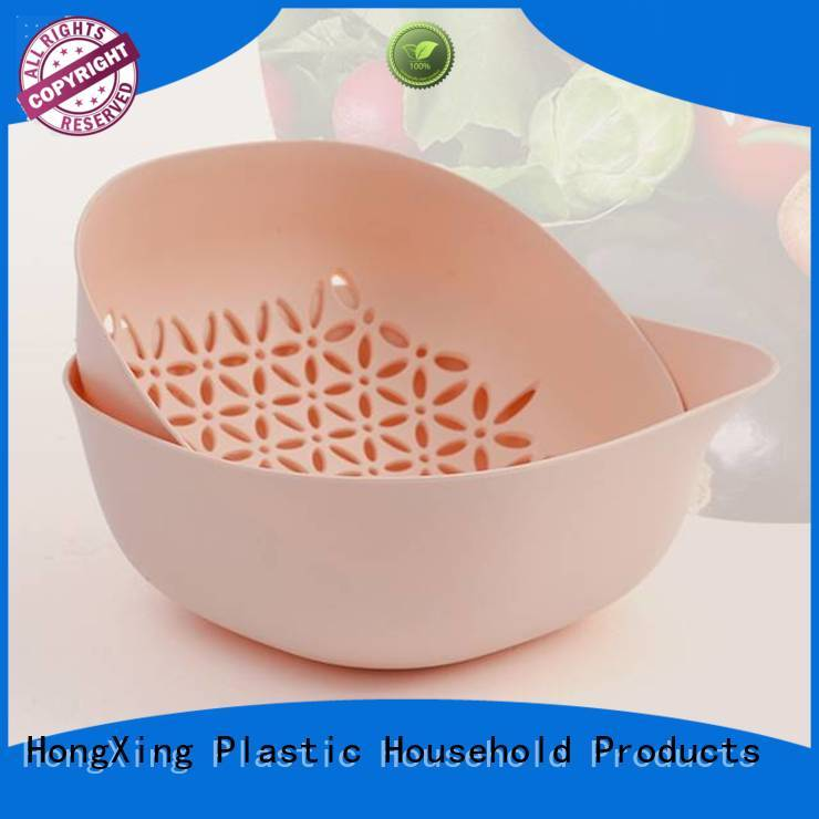 HongXing affordable small plastic colander wholesale for kitchen