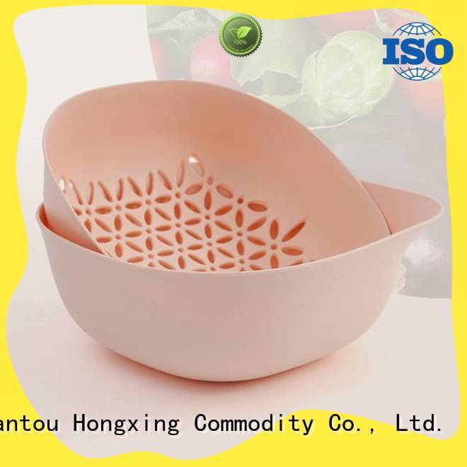 HongXing strainer small plastic colander directly sale for fruits