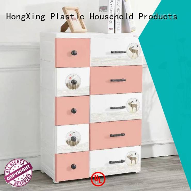 Affordable plastic cupboard open long-term-use for clothes
