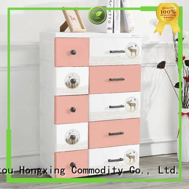 HongXing practical plastic storage cabinet certifications for storage clothes