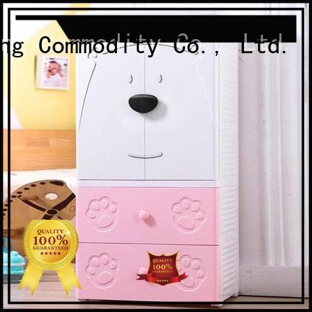 HongXing Affordable hard plastic storage cabinets layer for bedroom