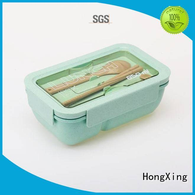 chopsticks japanese style bento lunch box for bread HongXing
