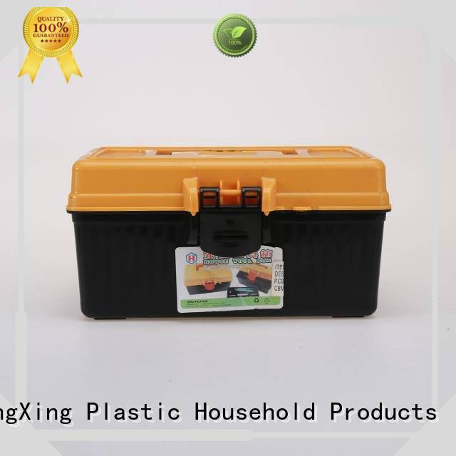 convenient to use plastic storage boxes tools with excellent performance for office HongXing