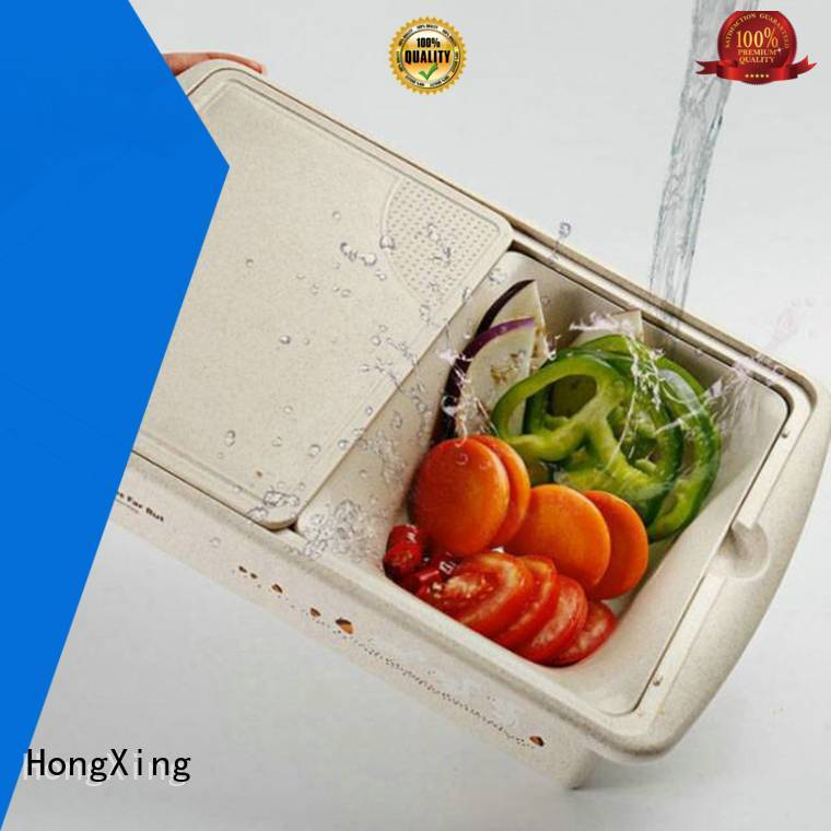 HongXing non-porous plastic kitchen accessories colander to store fruits