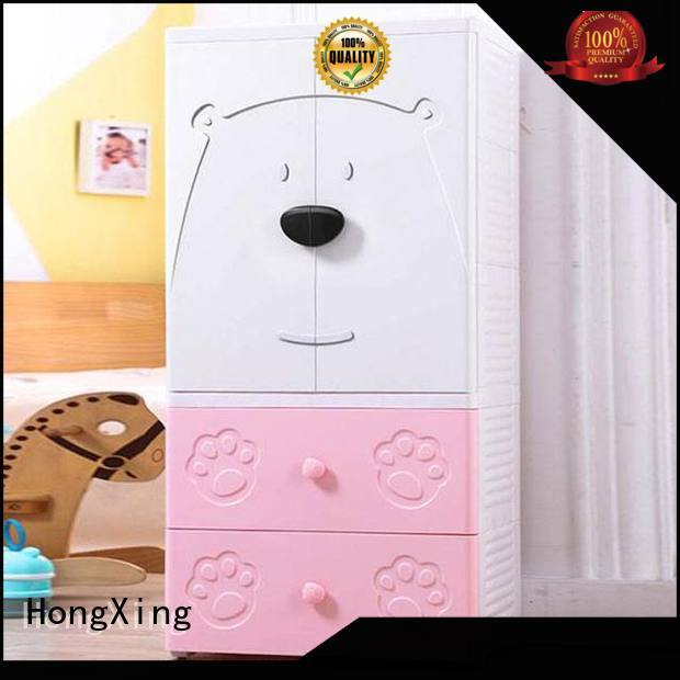 HongXing double plastic cupboard for living room