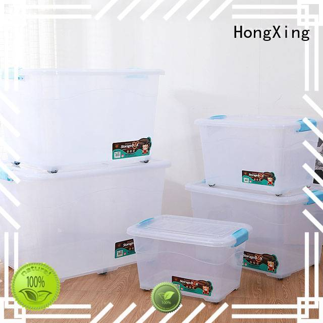 handleplastic plastic box storage containers shape for stocking fruit HongXing