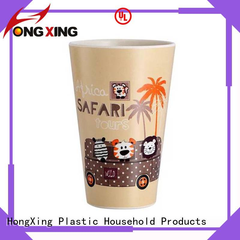 HongXing foldable plastic cup with lid factory price for kitchen squeezer