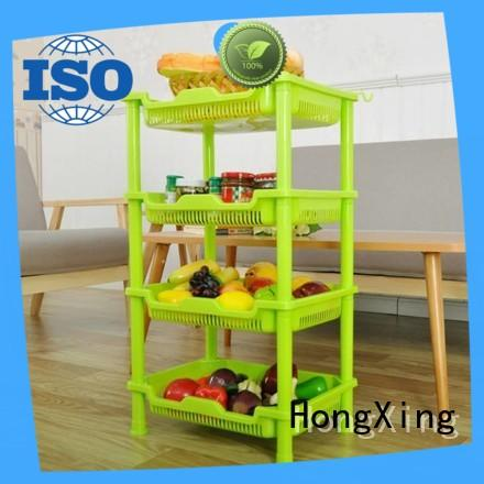 HongXing article plastic storage racks free quote for home juice