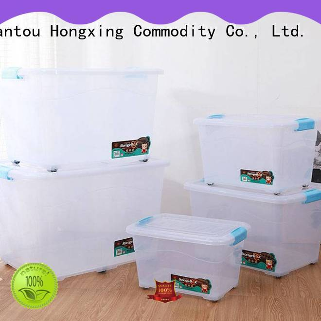 HongXing practical plastic storage box good design for noodle
