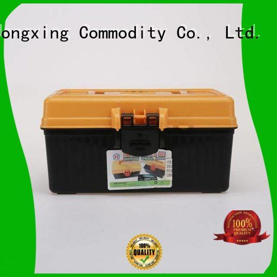 HongXing durable handle small plastic tool box professional services for office