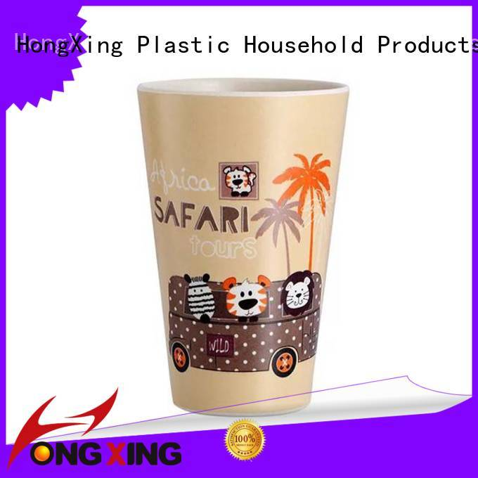 safety plastic mug cartoon bulk production for home juice