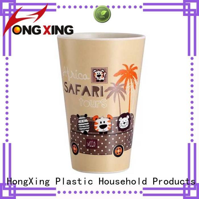 HongXing bamboo plastic household items bulk production for drinking