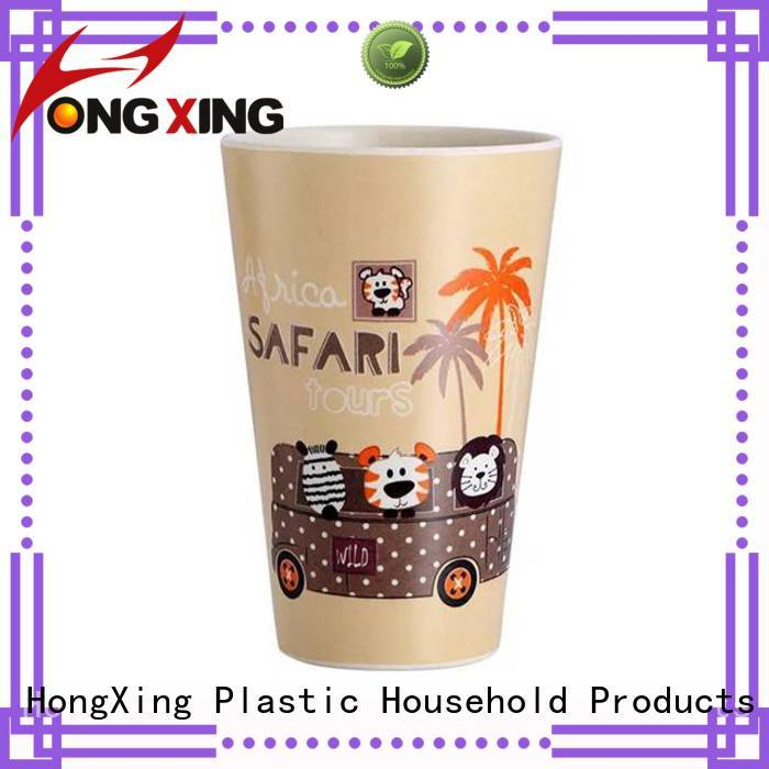 HongXing bamboo plastic household items bulk production for drinking