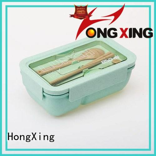 HongXing great practicality childrens plastic lunch box kids for macaron
