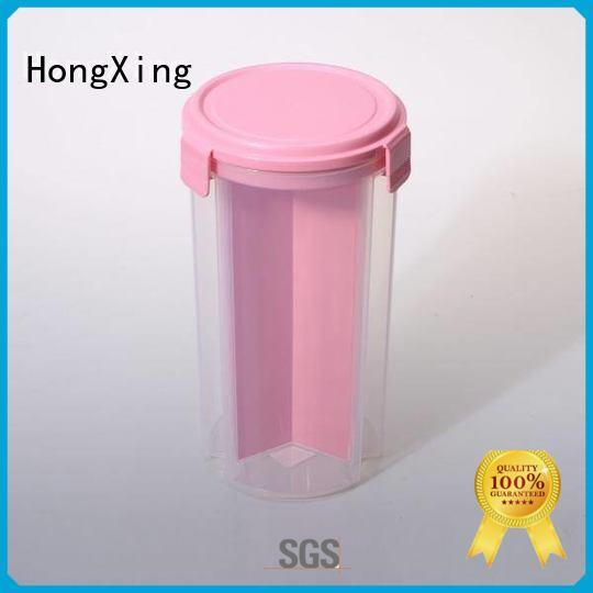 Japanese style plastic food storage square from China for macaron