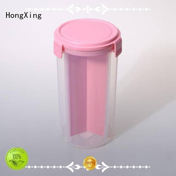 HongXing reliable quality plastic food storage  manufacturer for salad
