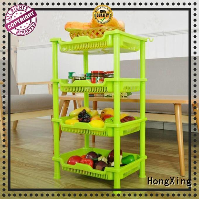 HongXing shelf plastic racks for storage from manufacturer for kitchen squeezer