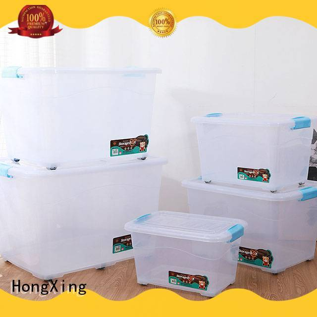 storage plastic boxes for sale rectangle for sushi HongXing