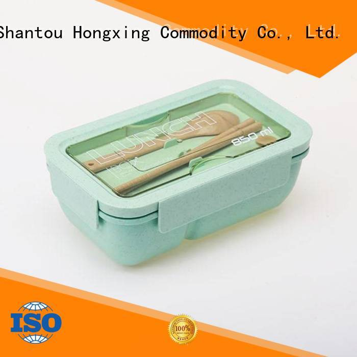 HongXing reliable quality lunch box microwave safe great practicality for stocking fruit