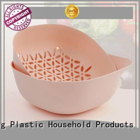 HongXing cutting kitchen strainer basket in different color to store fruits