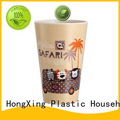 plastic personalized plastic coffee mugs coffee for student HongXing