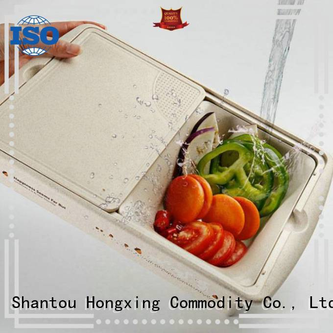 HongXing safety plastic household products in different color to store fruits