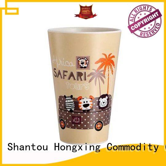 HongXing coffee plastic cup with lid bulk production for student