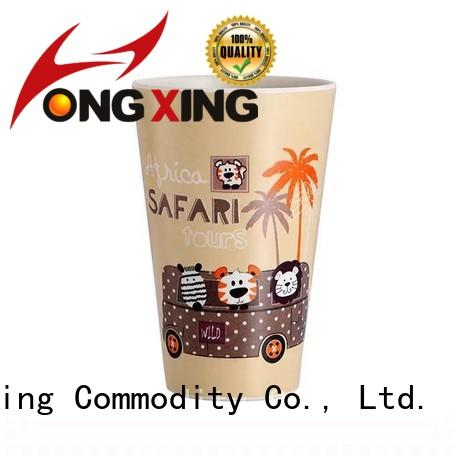 HongXing orange plastic drinking cups free design for drinking